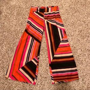 Bar III wide leg fashion pants size Large